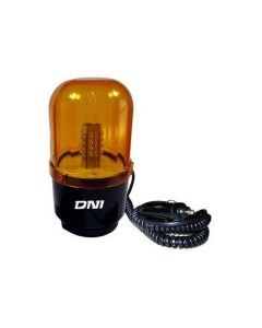 Baliza  Bivoltaje Led C/Base Magnetica Y Cable Con Conestor Para Encen