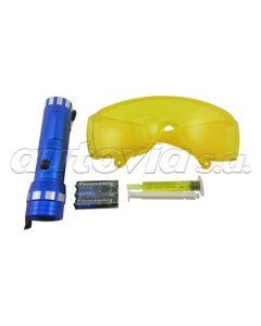 Set Luz Ultravioleta Detector De Fuga Para Gases R12/R134