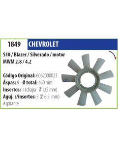 Helice Chevrolet S10 Blazer Silverado C/Motor Mwm 2.8 4.2 Daewoo Ssangyong