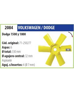 Helice Dodge 1500 1800-OM-2084/2