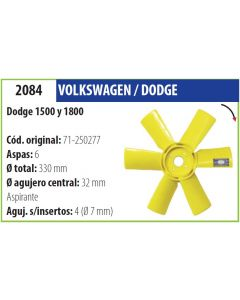 Helice Dodge 1500 1800-OM-2084