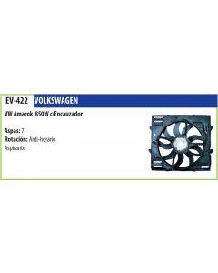 Electroventilador C/Encauzador Vw Amarok 850W (2H0121201N) 9 Aspas