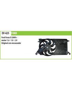 Electroventilador C/Encauzador Ford Focus Ii 1.6 1.8 2.0 09->