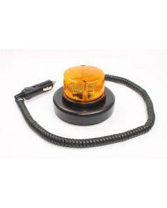 Baliza A Led Bivoltaje Magnetica Intermitente Ambar