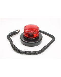 Baliza A Led Bivoltaje Magnetica Intermitente Roja
