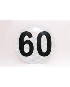 Circulo Velocidad Maxima 60Km/H