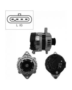 Alternador 12V Chev Aveo Suzuki Swift 1.6 04-> Ficha 4 Pines