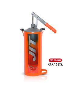 Bomba Manual Para Aceite Capacidad 10 Litros C/Ruedas-JIT01-0085