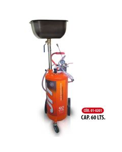 Aspirador Neumatico De Aceite Capacidad 60 Litros-JIT01-0201