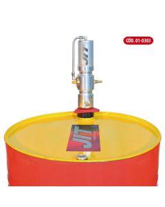 Cabezal Engrasador Neumatico De Caudal Continuop/Tambores De 200Kg