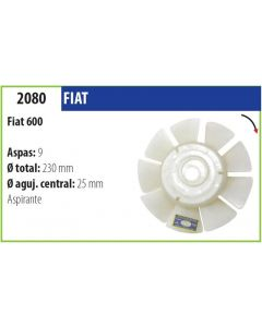 Helice Fiat 600