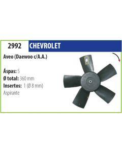 Helice Chevrolet Aveo Ford Sierra Daewo Espero C/A.A.