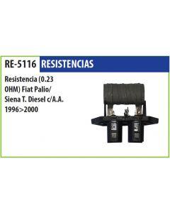 Resistencia Fiat Palio Siena Td C/A.A. 96->00